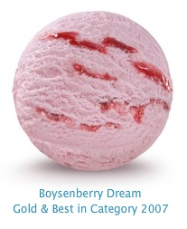 Boysenberry Dream - Boysenberry ripple, through smooth, rich boysenberry flavored ice cream