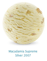 Macadamia Supreme - Creamy macadamia ice cream with roasted Australian macadamia nuts